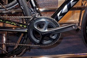 Shimano Ultegra 52-36t Standard double chainset on Kross Vento 7 carbon roadbike.